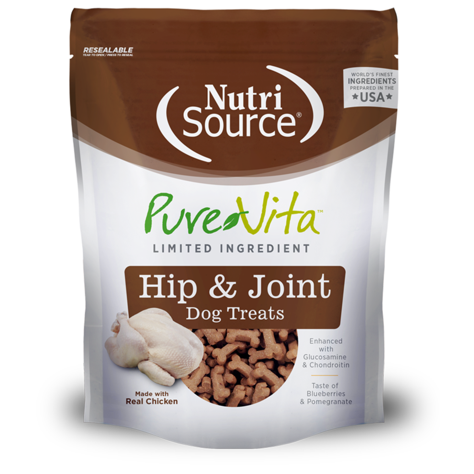Pure Vita PURE VITA Hip & Joint Dog Treats 6oz