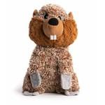 Fabdog FABDOG Fluffie Beaver LG Dog Toy