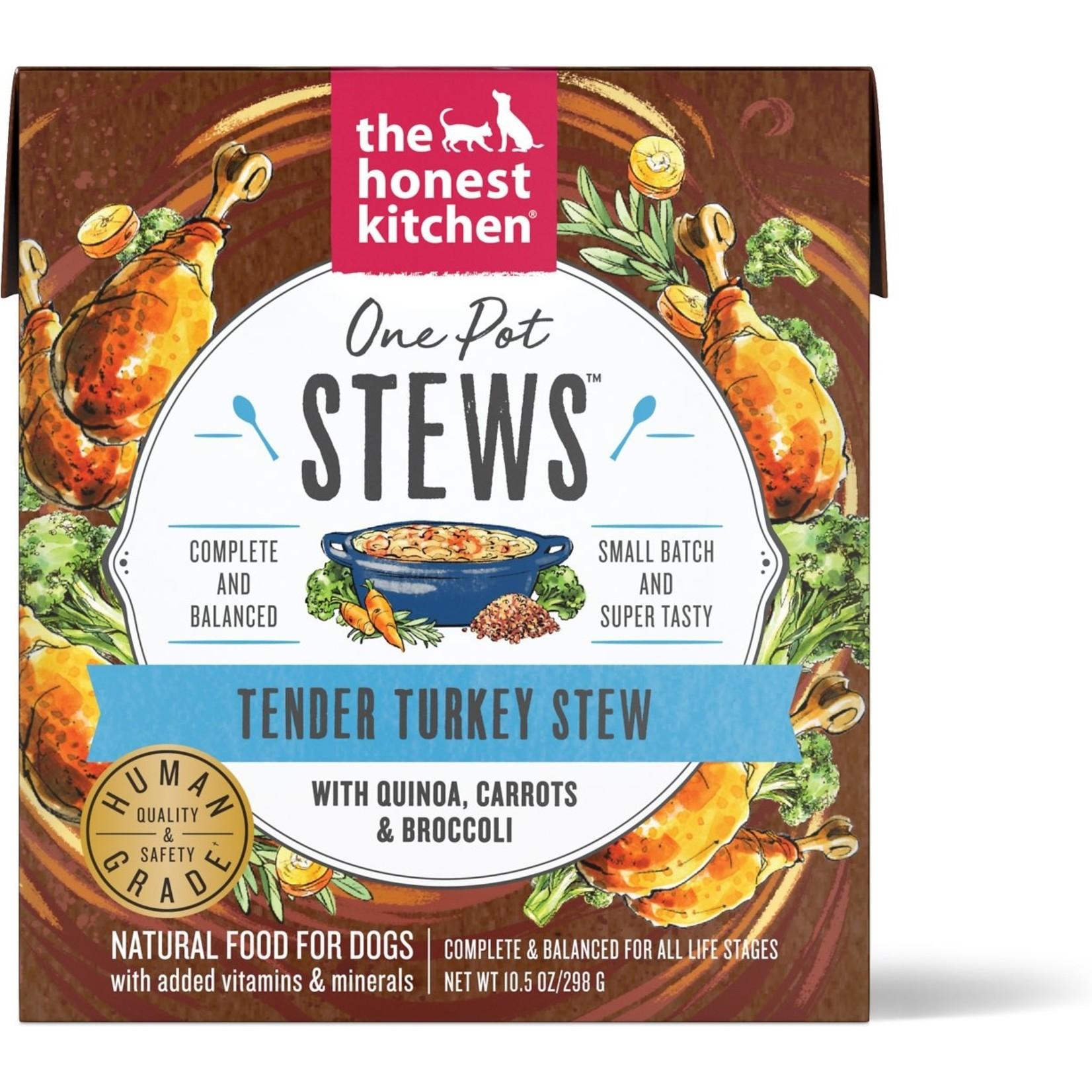 Honest Kitchen THK Tender Turkey Stew with Quinoa Dog Can 10.5oz