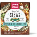 Honest Kitchen THK Salmon and Chicken Stew with Brown Rice Dog Can 10.5oz