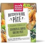 Honest Kitchen THK Butcher Block Pate Chicken and Super Greens Dog Can 10.5oz