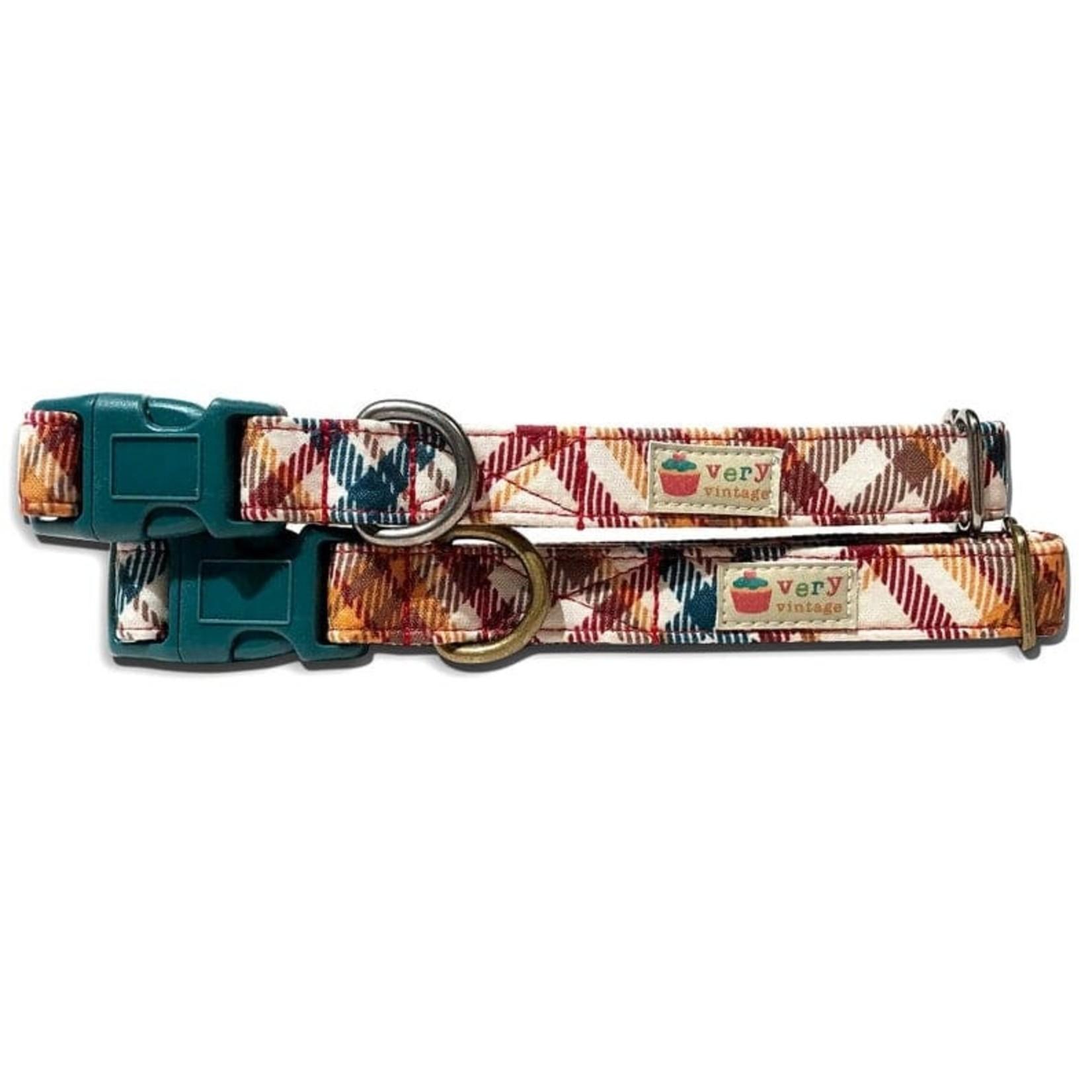 Very Vintage VERY VINTAGE Acorn Spice Dog Collar