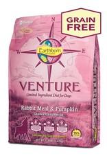 Venture Earthborn Venture GF Rabbit Meal and Pumpkin Dog Food