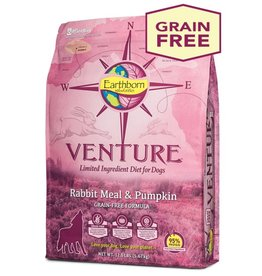 Venture Earthborn Venture Rabbit Meal and Pumpkin Dog Food