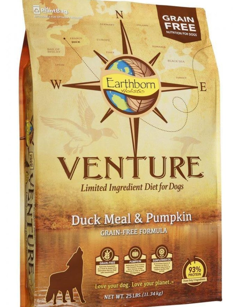 Venture Earthborn Venture GF Duck Meal and Pumpkin Dog Food