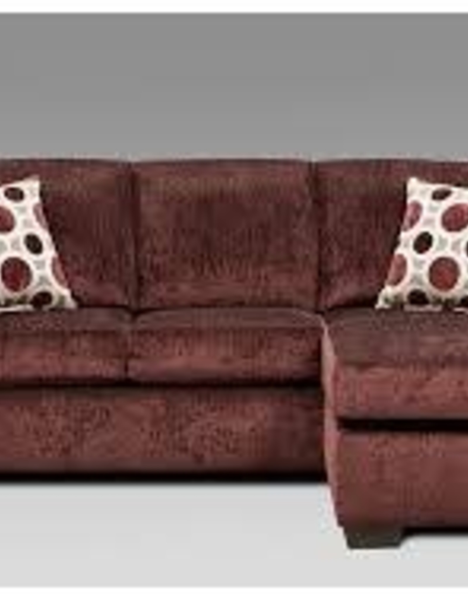 Affordable Furniture Affordable Furniture Prism Elderberry Sofa