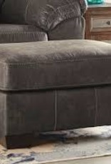CLS Havilyn Charcoal Ottoman