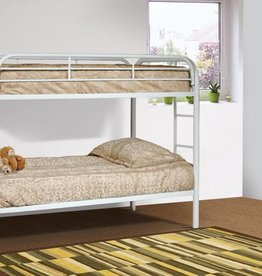 Kith Furniture Twin/Twin White Bunkbed