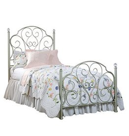 Standard Spring Rose Twin Bed: Discontinued