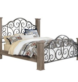 Standard Timber Creek Queen Bed