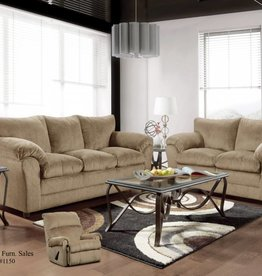 Washington Furniture Kelly Bark Recliner: Disc