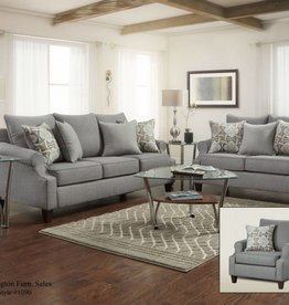 Washington Furniture Bay Ridge Gray Love