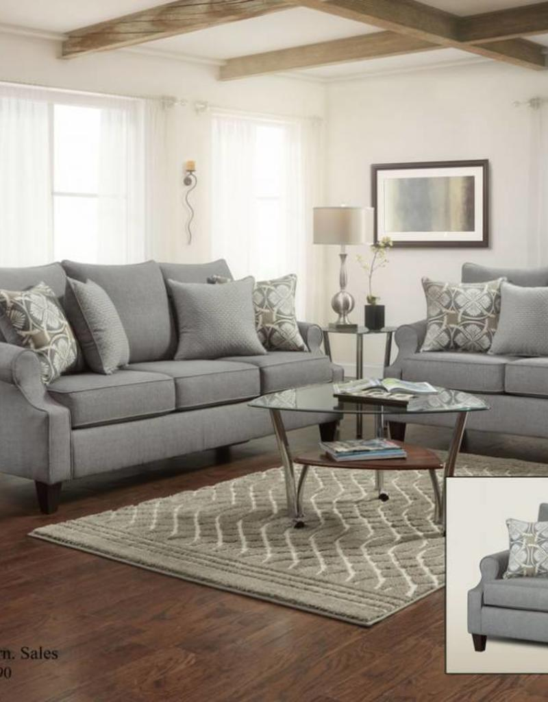 Washington Furniture Bay Ridge Gray Love
