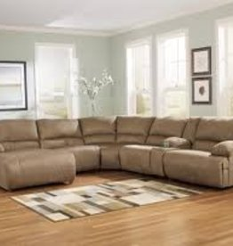 CLS Bueno Mocha 6pc Sectional
