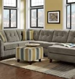 Washington Furniture Sydney Gray 3pc Sectional