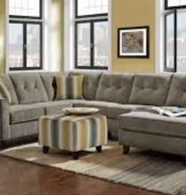 Washington Furniture Sydney Gray 3pc Sectional