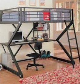 Coaster WORKSTATION LOFT BED Full