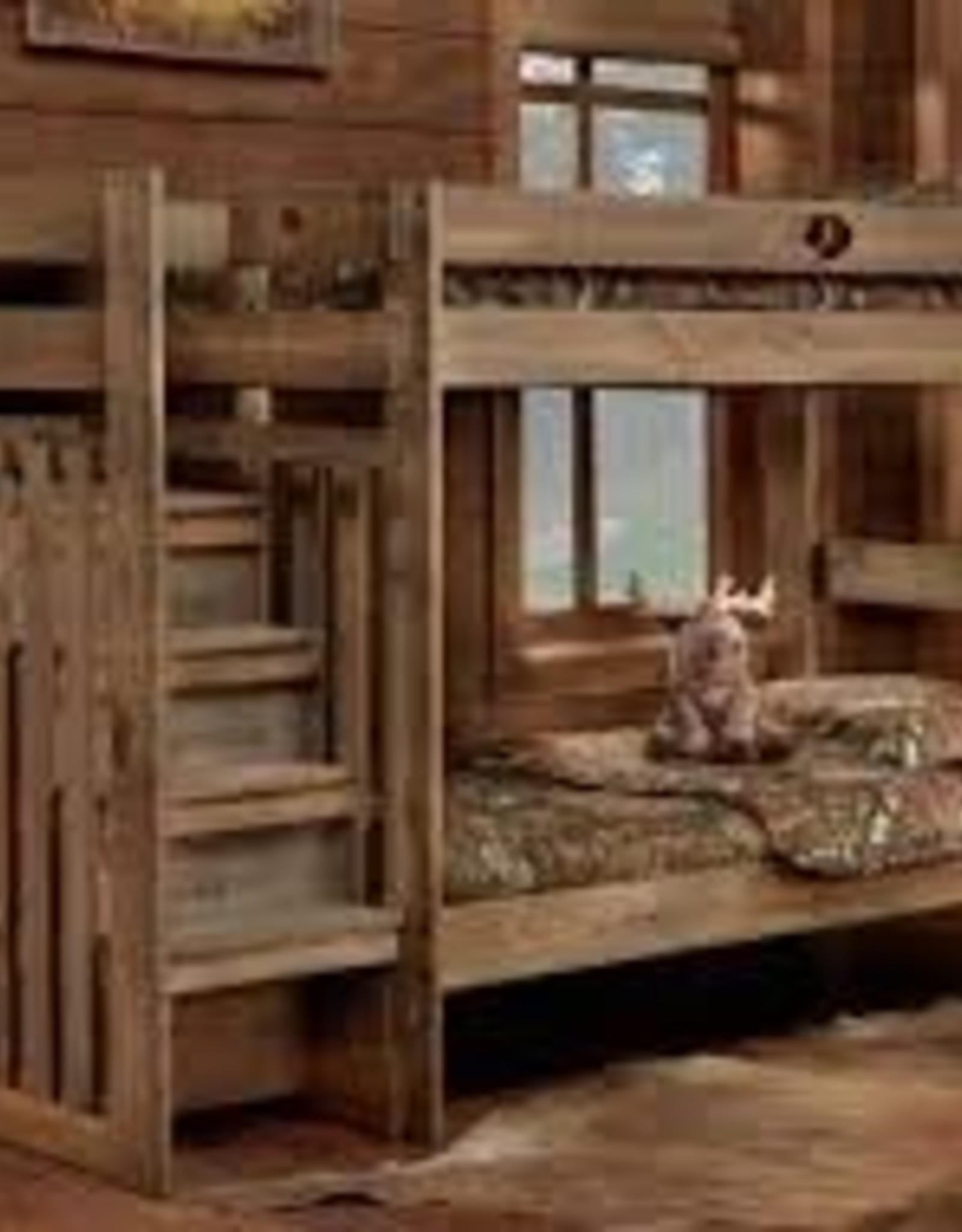 CLS Twin/Twin Mossy Oak Stair Bunkbed