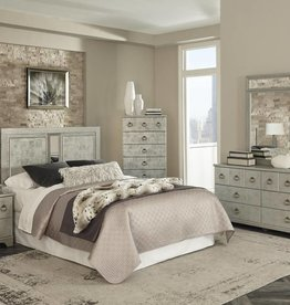 Kith Furniture Kinley Villawood Metal Queen HB