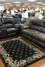 American Furniture Stallion Saddle Sofa
