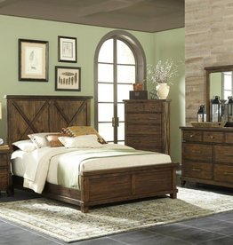 Kith Furniture Hacienda King Bed, D, M, C, NS