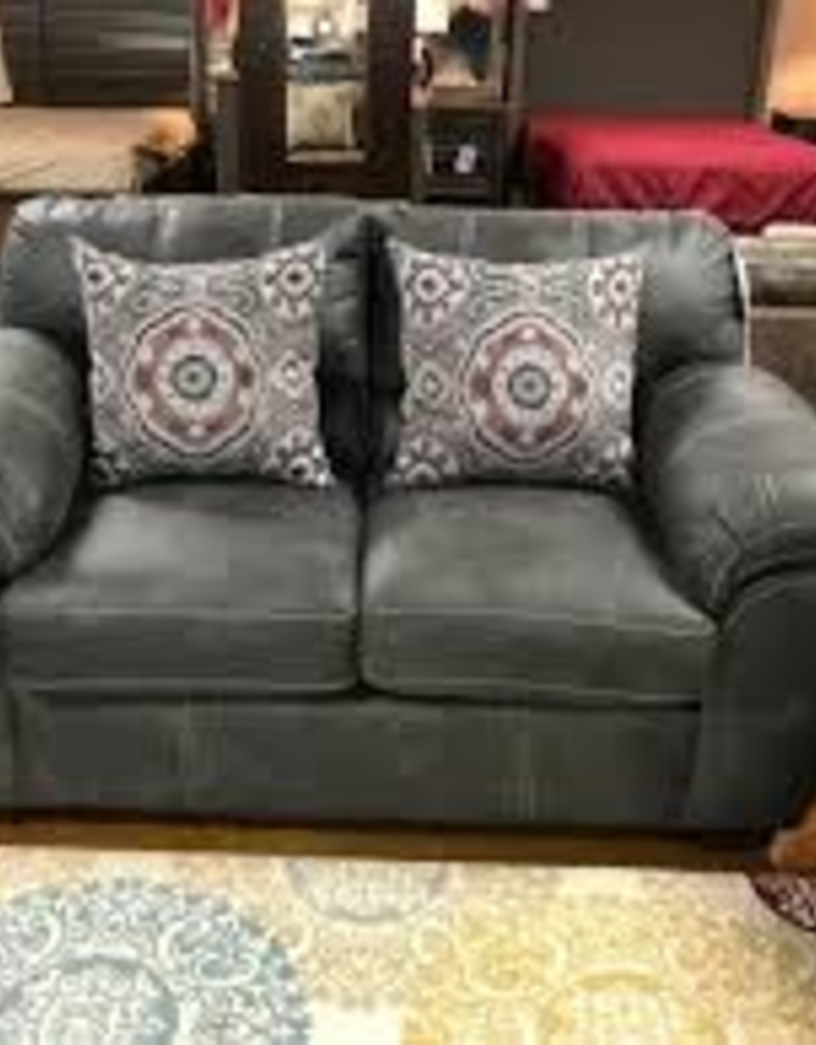 American Furniture Santa Fe Grey Love