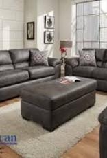 American Furniture Santa Fe Grey Sofa