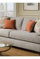American Furniture Popstitch Dove Sofa