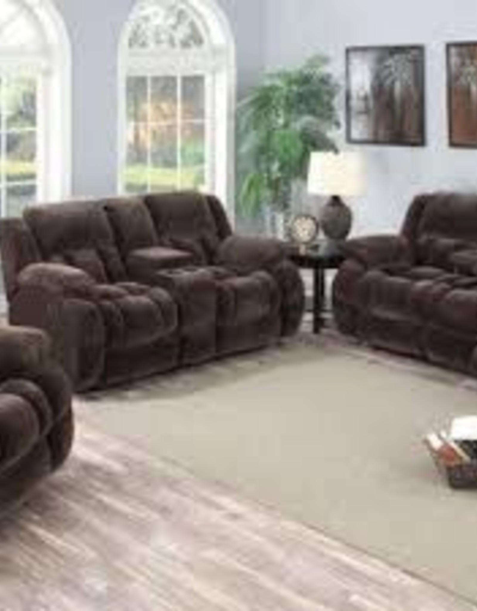 CLS Miriam Argos Mocha Reclining Sofa