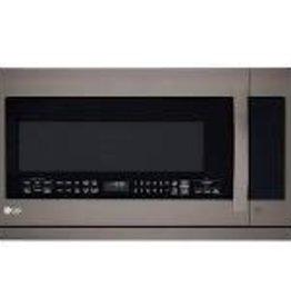 GE GE Microwave Ventahood Black