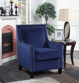 Elements Manor Blue Accent Chair