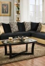 CLS Jenga Gold Sectional
