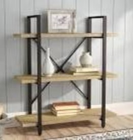 "Carmine Three Level 40"" Etagere Bookcase"