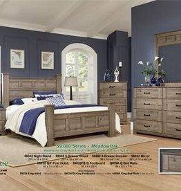 Perdue Meadowlark Gray Ash Queen Bed