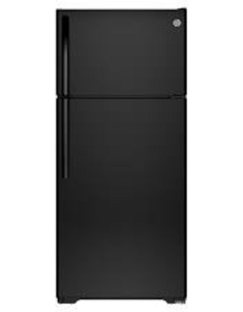 GE 21CFT Black GE Refrigerator