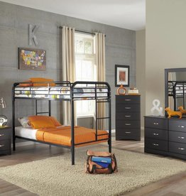 Acme Metal Twin/Twin Bunkbed