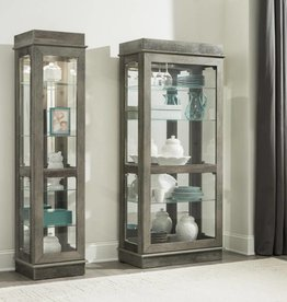 Kith Furniture Gray Oak Small Curio