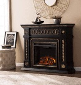 CLS Girard Black Fireplace