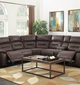 Steve Silver Aria Saddle Brown Sectional