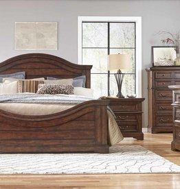American Woodcrafters Stonebrook Cherry Queen Bed