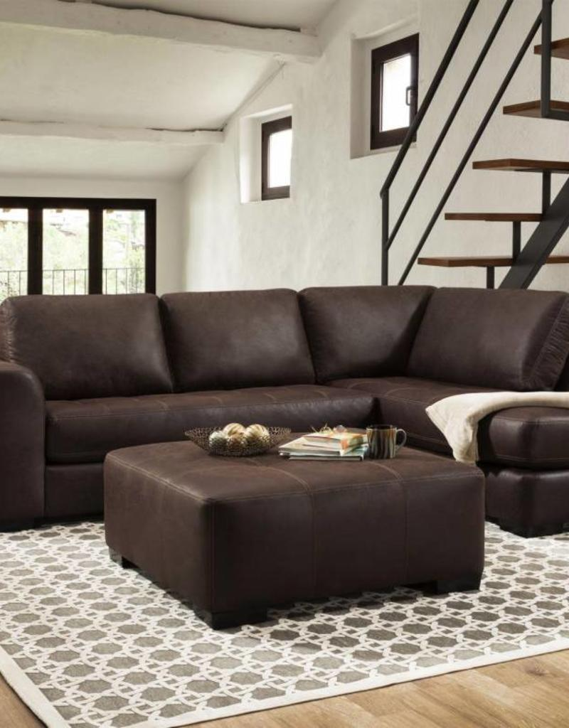 Albany Industry Bandit Espresso 2pc Sectional
