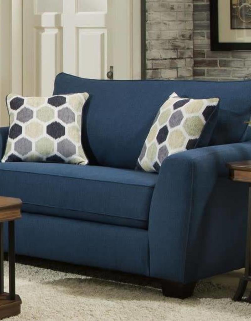Albany Industry Heritage Blue Indigo Sofa