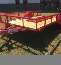 Texas Bragg Texas Bragg 6X14P Utility Trailer with Dove