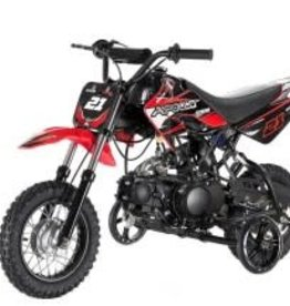 TMS 70cc Dirt Bike with Training Wheels