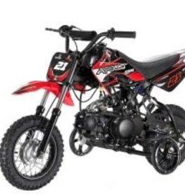 TMS 70cc Dirt Bike with Training Wheels