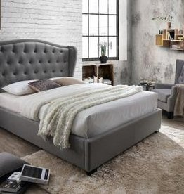 MYCO Festa Queen Gray Bed