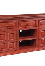 "MYCO Charleston Red 60"" TV Stand"