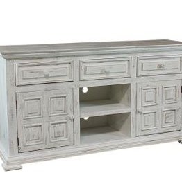 MYCO Charleston White TV Stand 60""