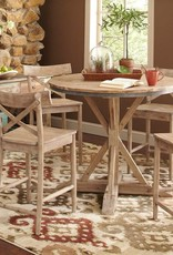 Elements Callista Counter Height Table with 4 Chairs