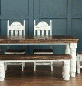 Rustic Heritage Rustic Santa Rita White Table